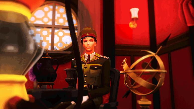 遊郭の軍人さん